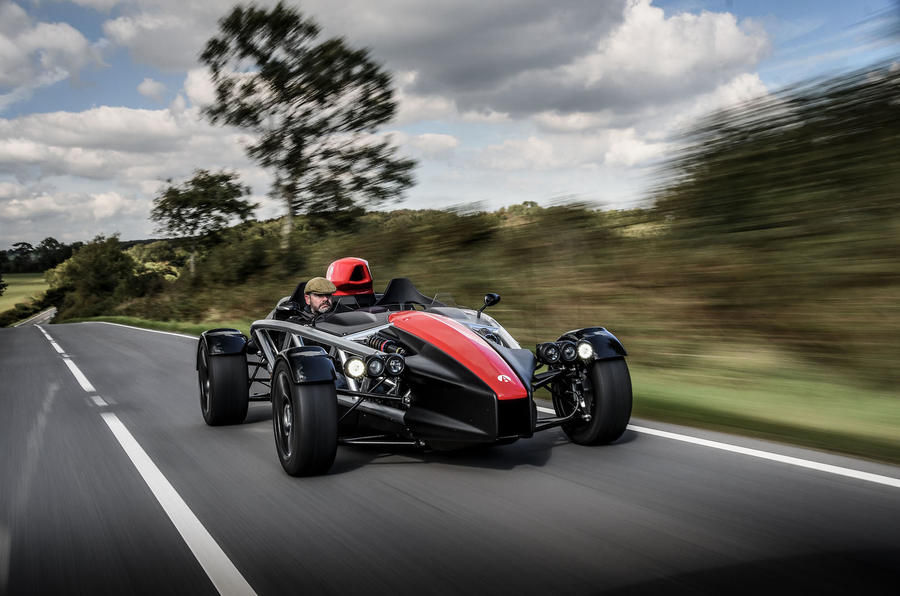 Ariel Atom 4 2018 first drive review on the road dark