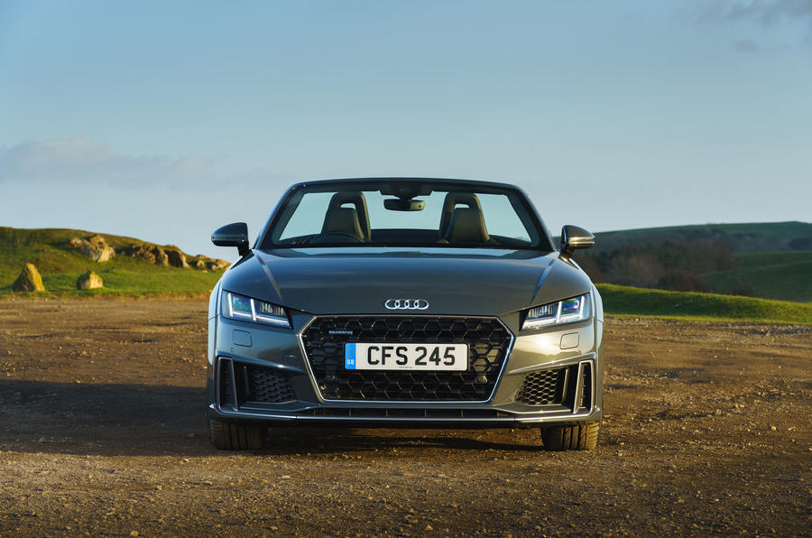 Audi TT Roadster 2019 UK first drive review - static nose