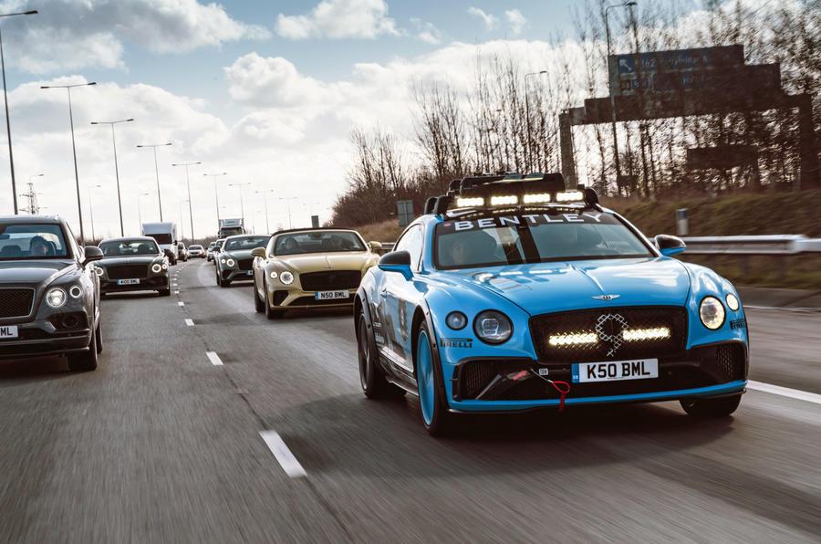Bentley GT - hero front