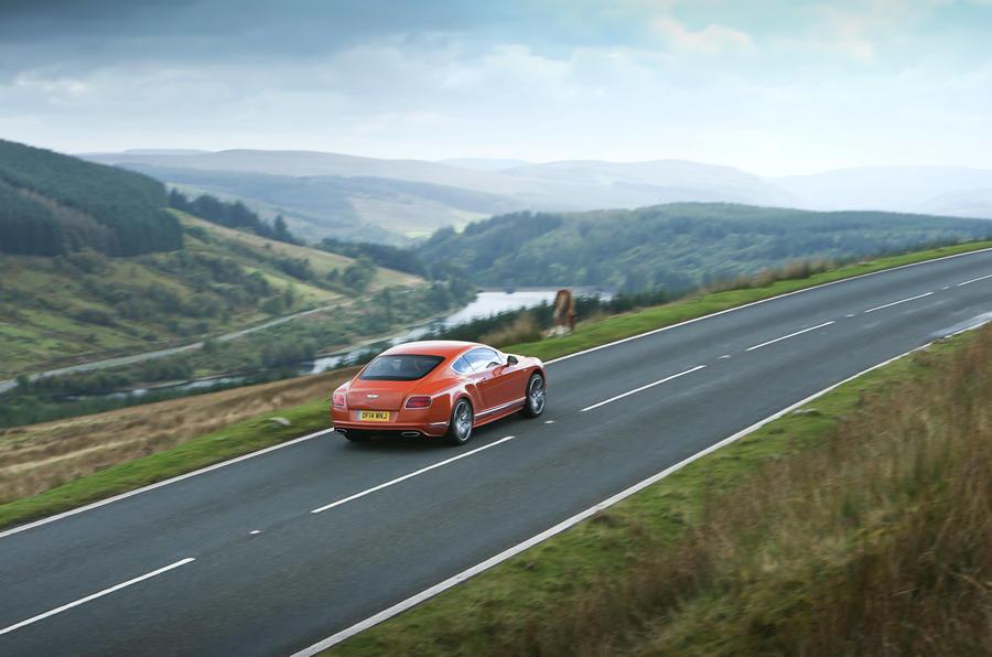 Bentley GT - hero rear