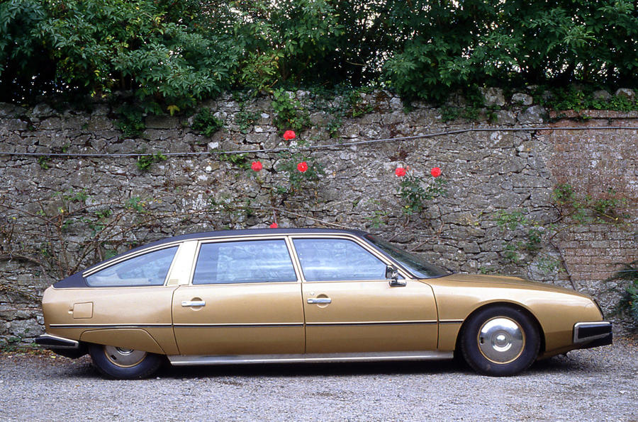 Citroen CX - static side