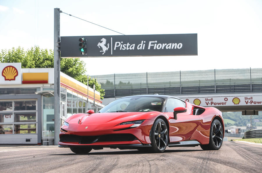 Ferrari SF90 Stradale 2020 first drive review - static