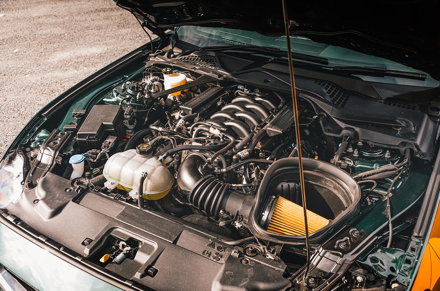 Ford Mustang - engine
