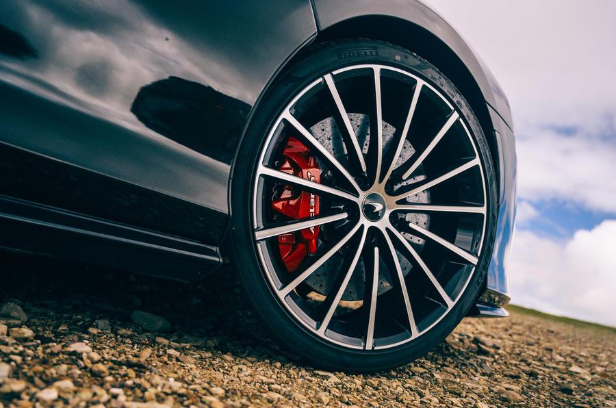 McLaren GT - wheel