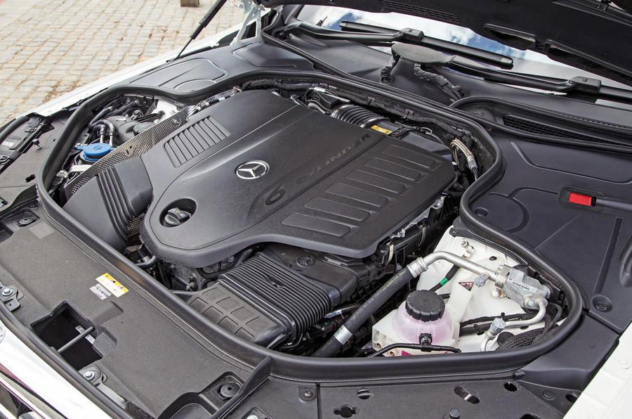 Mercedes-Benz S-Class S500L 2018 long-term review - engine