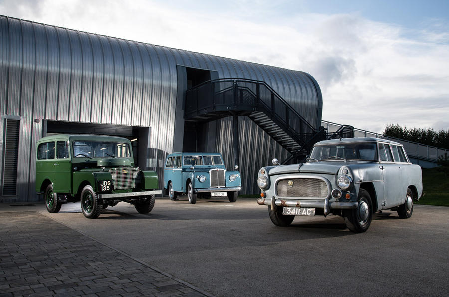 Range Rover ancestors