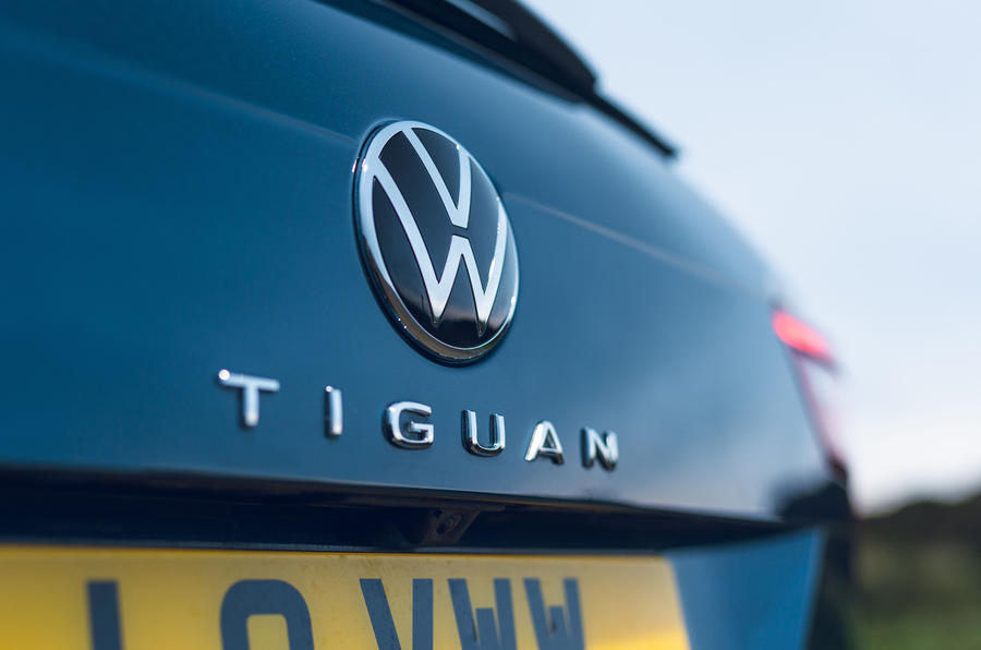 2021 Volkswagen Tiguan Elegance - rear badge