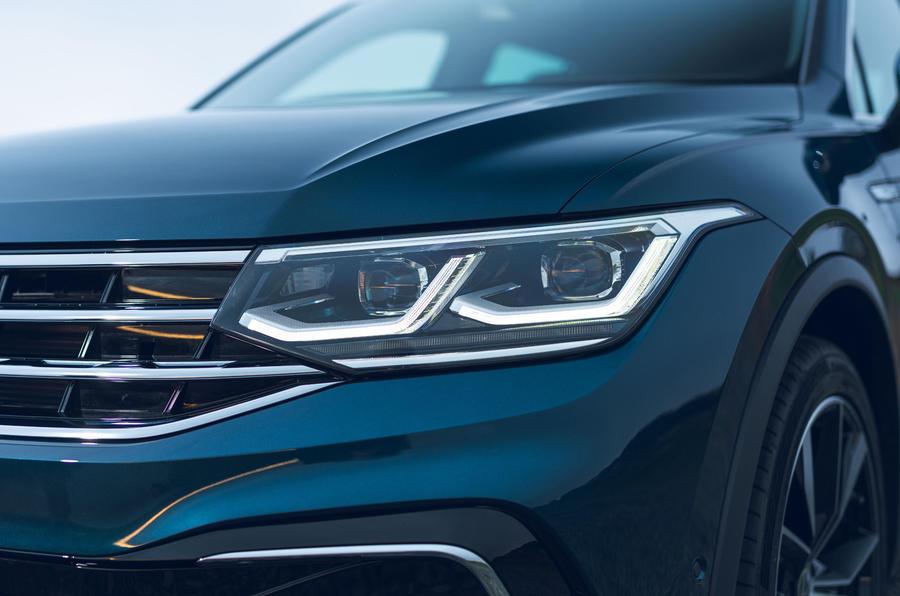 2021 Volkswagen Tiguan Elegance - phare