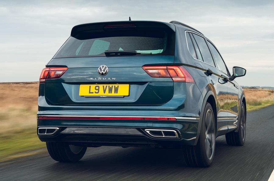 Volkswagen Tiguan 2.0 TDI Elegance 2021 UK review review ...