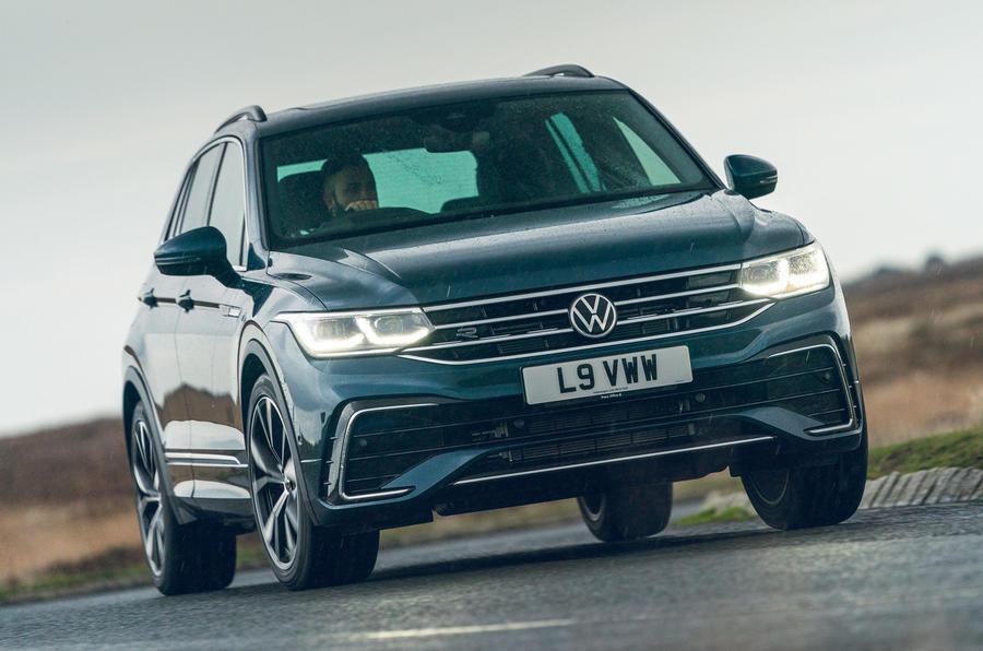 2021 Volkswagen Tiguan Elegance - en première ligne