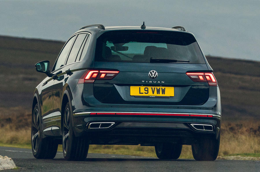 2021 Volkswagen Tiguan Elegance - virage arrière