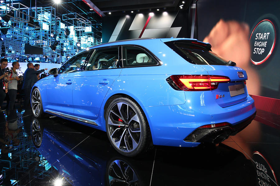 Audi RS4 Avant returns with more power than ever