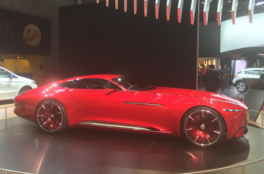 Vision Mercedes-Maybach at the Paris motor show 2016 - show report and gallery