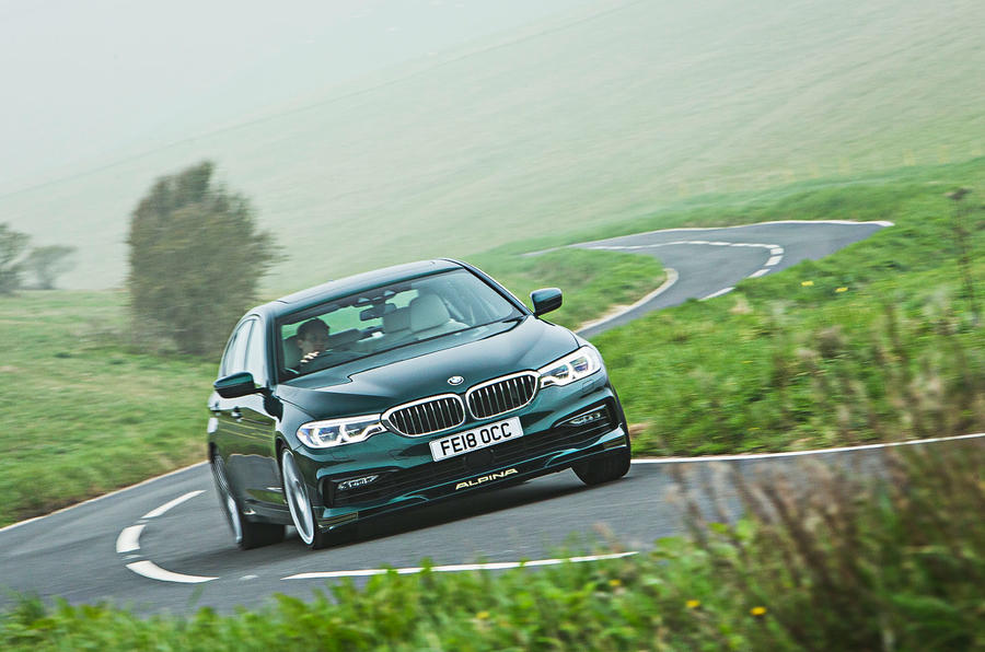 Alpina B5 BiTurbo saloon action