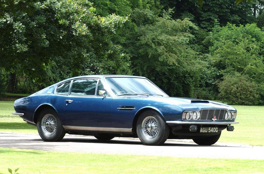 Aston Martin DBS - old