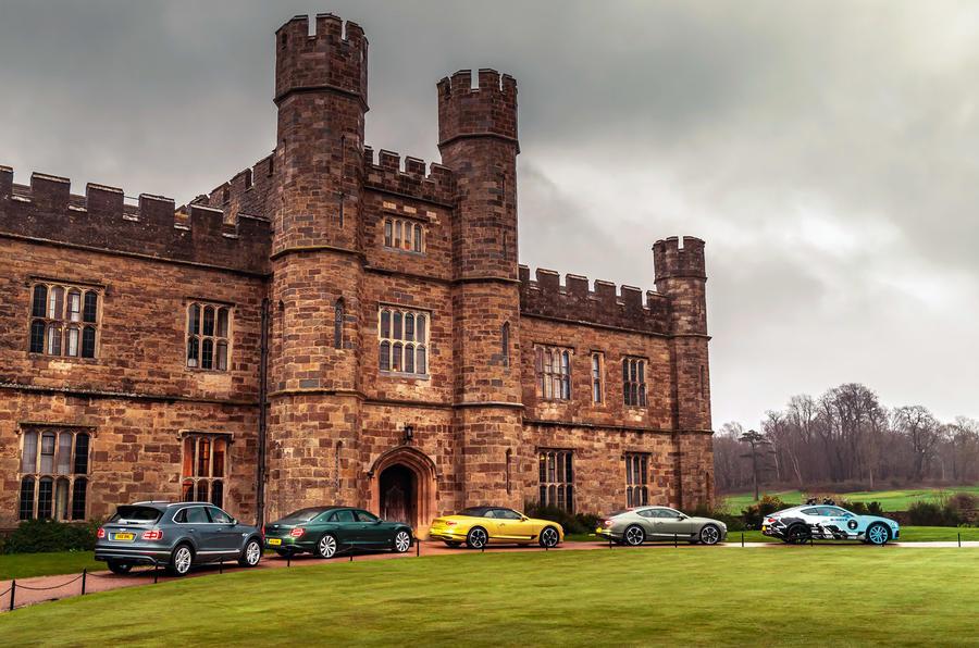 Bentley Leeds castle