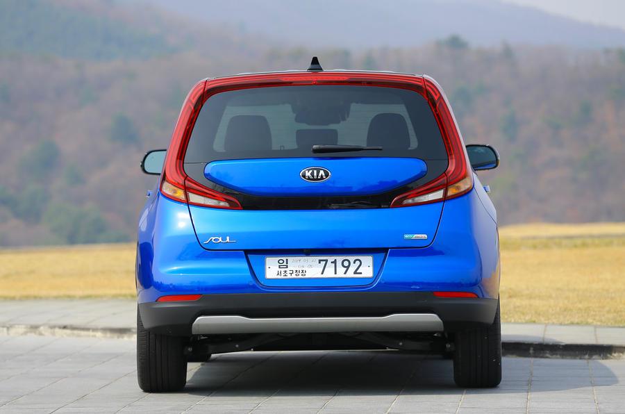 Kia Soul EV 2019 first drive review - static back