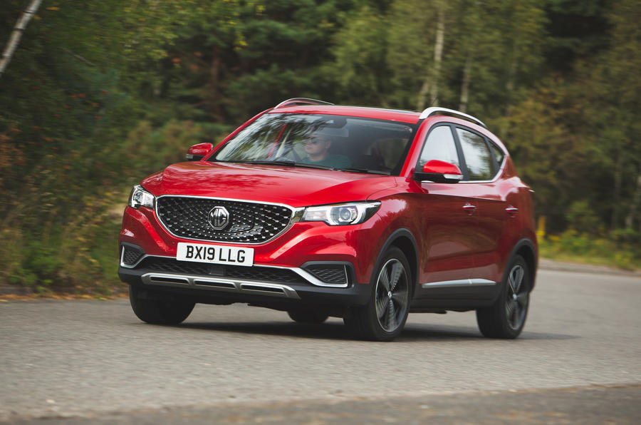 MG ZS EV 2019 - hero front
