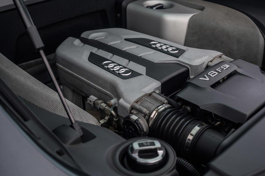 Naturally aspirated V8