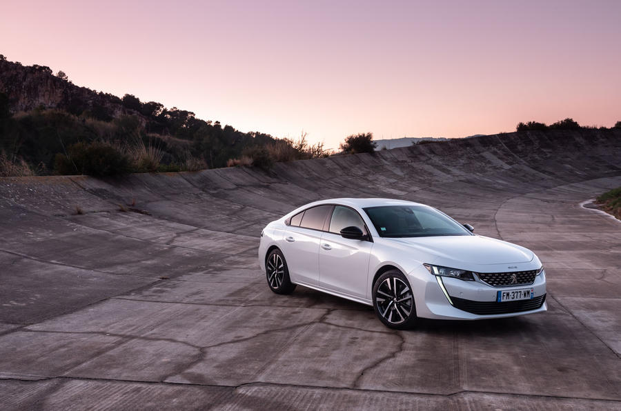 Peugeot 508 Hybrid4 2020 first drive review - static front