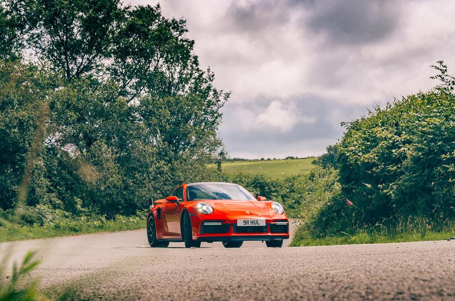 Porsche 911 - hero front