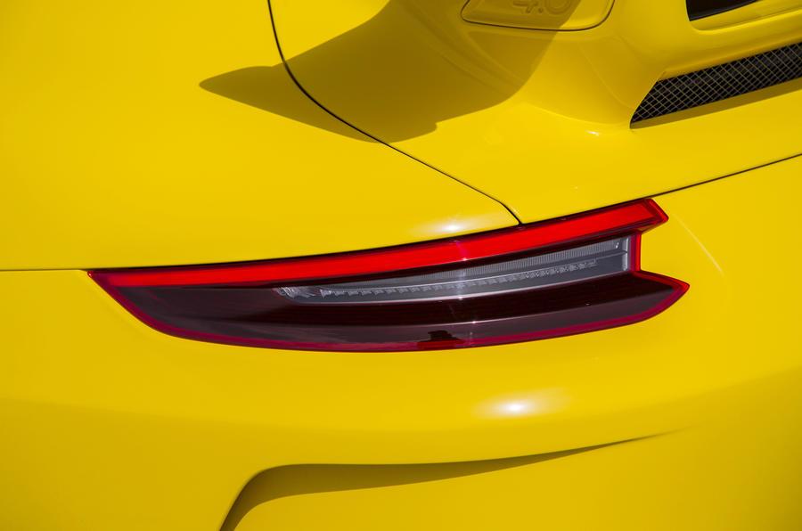 Porsche 911 GT3 rear lights