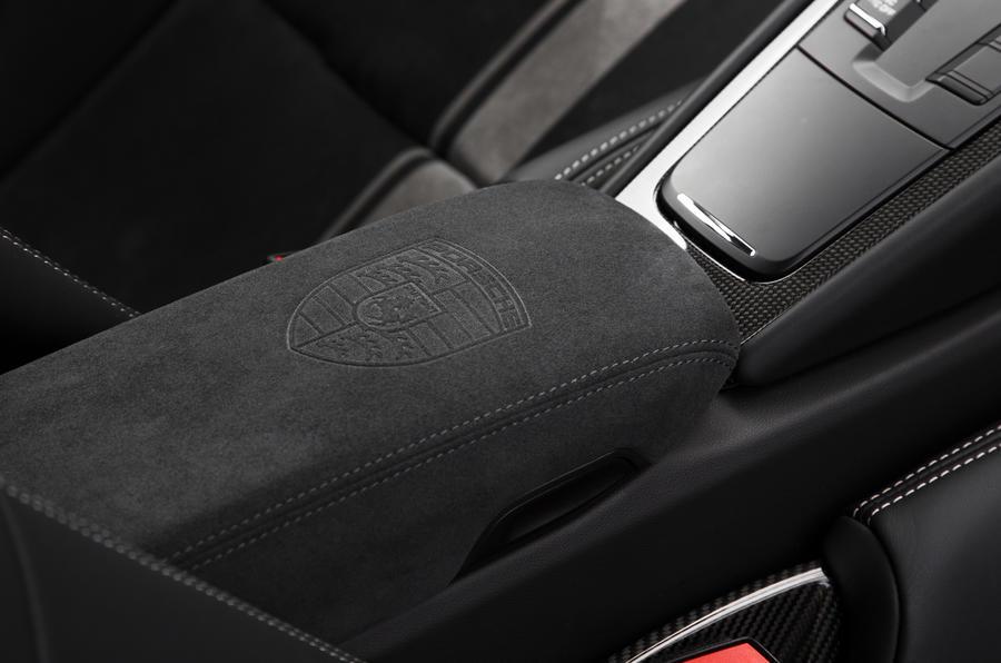 Porsche 911 GT3 Alcantara interior