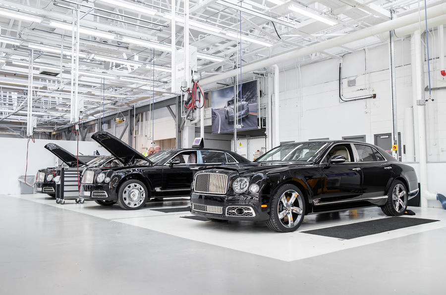 Bentley Mulsanne production line - Crewe