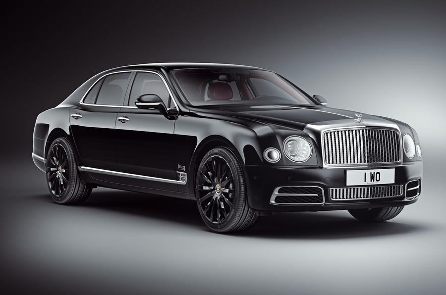 Bentley's 100th birthday Mulsanne has a special extra