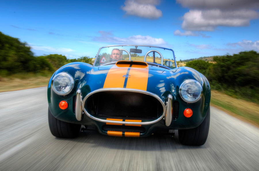2017 AC Cobra 378 - new pics of 550bhp V8 model