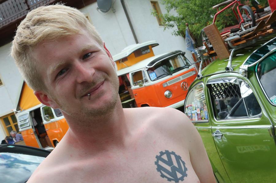 Wörthersee Treffen 2017 VW tattoo