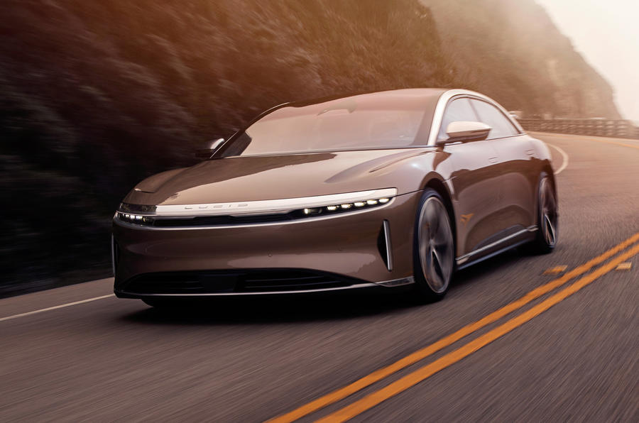 2020 Lucid Air - hero front