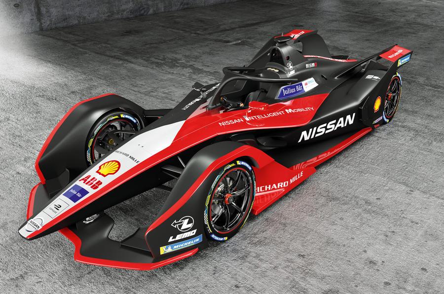 Nissan Formula E car