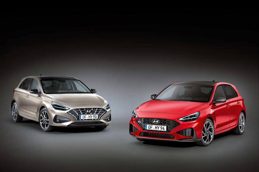 Hyundai i30 and i30 N-Line 2020 - stationary fronts