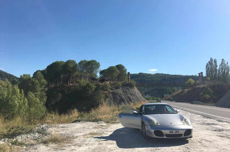Scenic stop at Abizanda, Spain