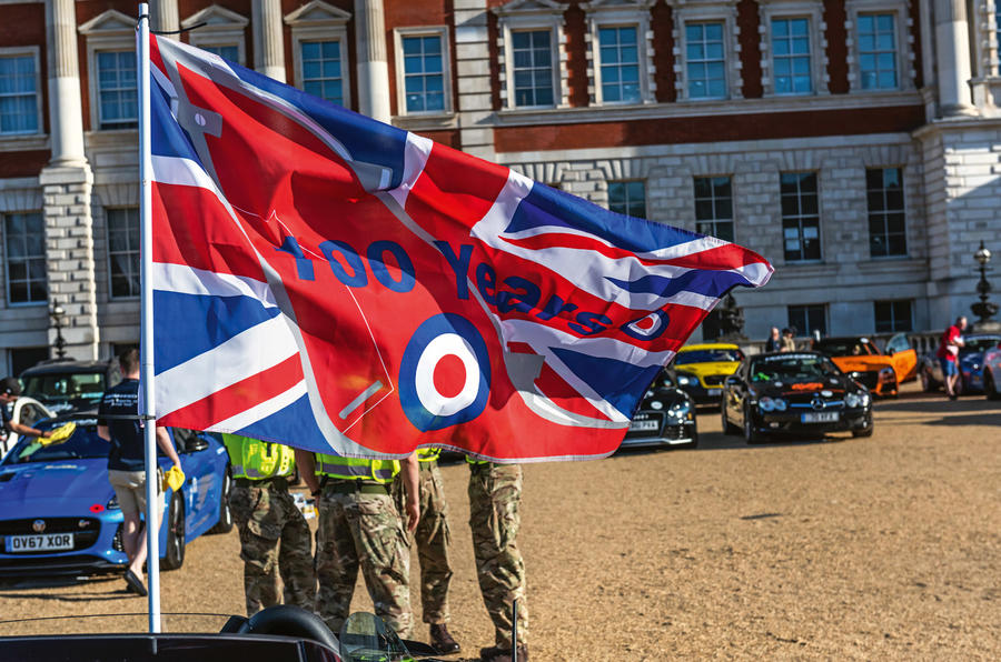 Rally for Heroes - RAF flag