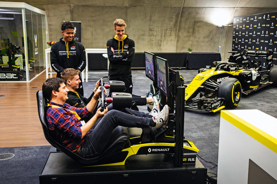 Renault e-sports 2020 - Tom Morgan and Jarno Opmeer