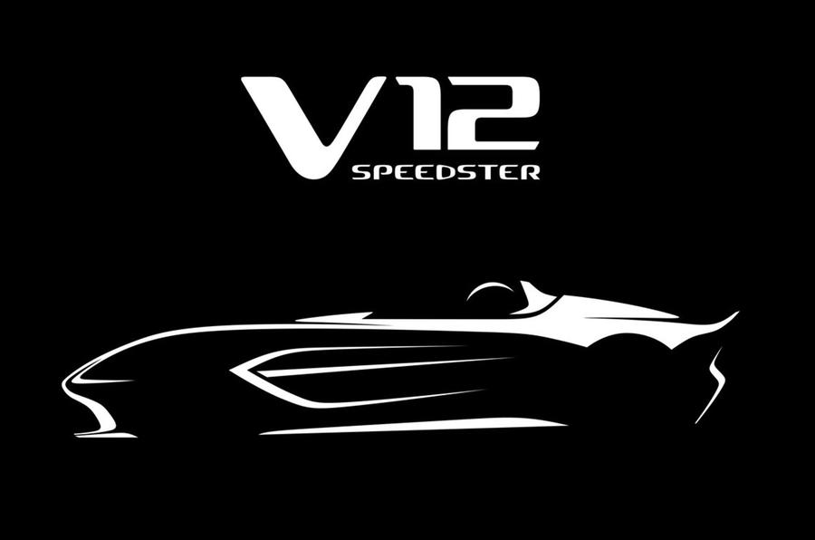 Aston Martin V12 Speedster sketch