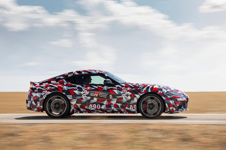 Toyota Supra prototype side