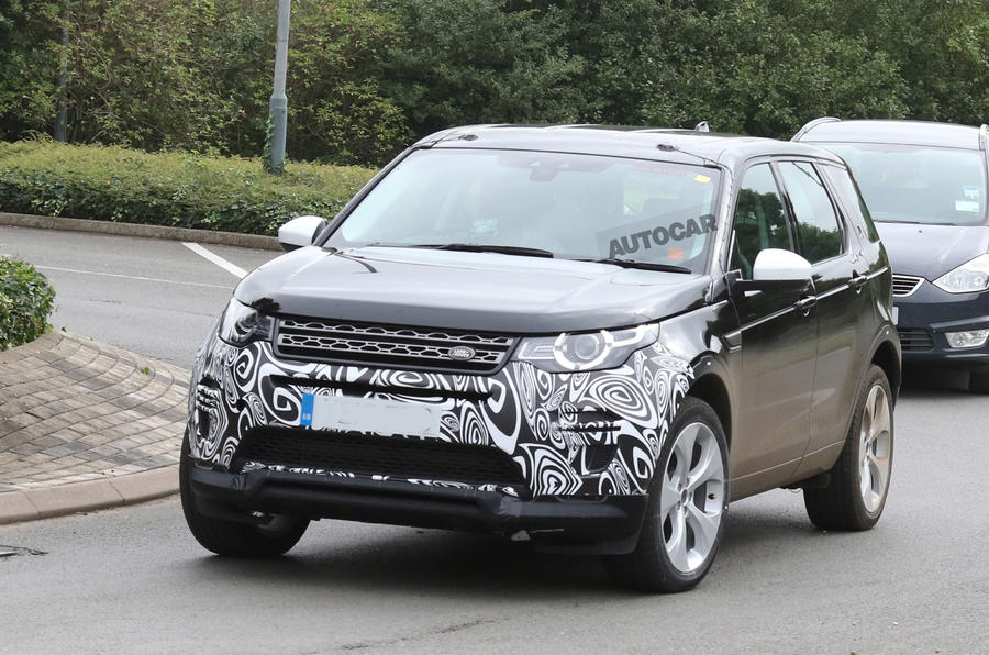 updated land rover discovery sport to get plug in hybrid autocar. Black Bedroom Furniture Sets. Home Design Ideas