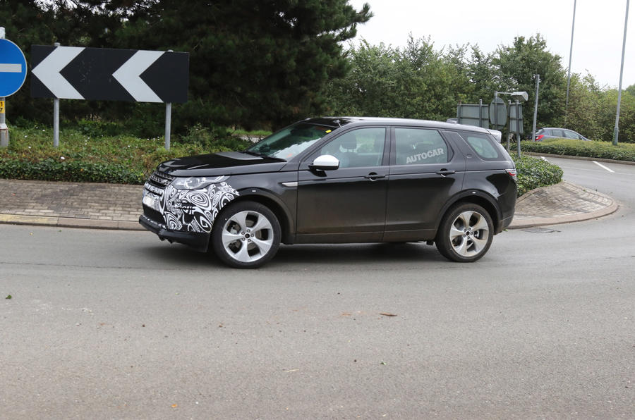 2018 land rover facelift. interesting rover 2018 land rover discovery sport facelift to get hybrid option for land rover s