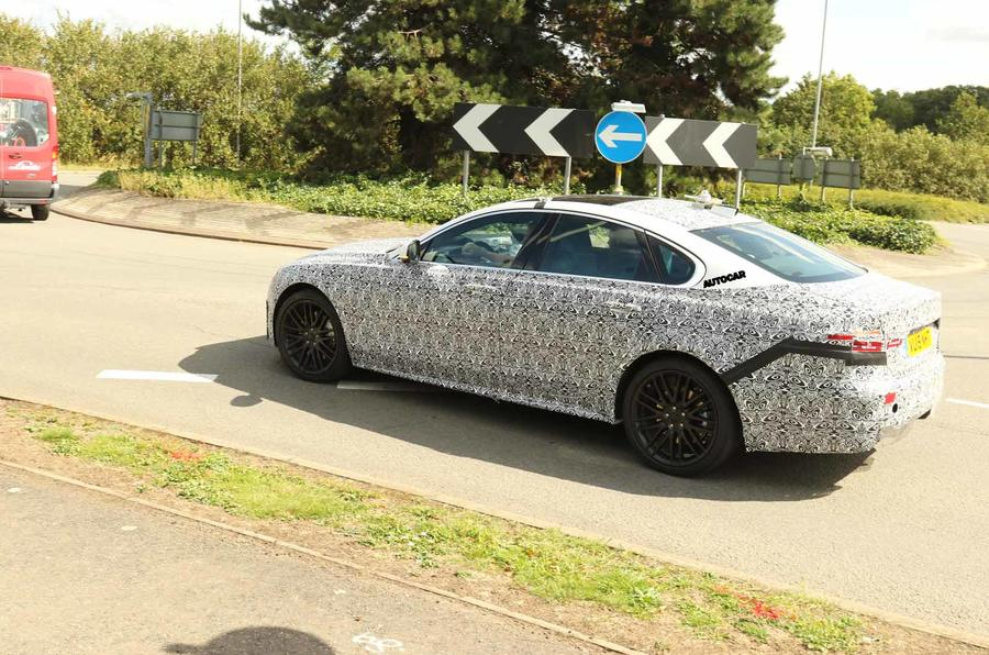 Jaguar XF 2020 spies