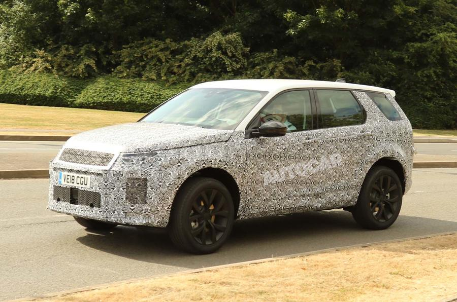 updated land rover discovery sport to get plug in hybrid