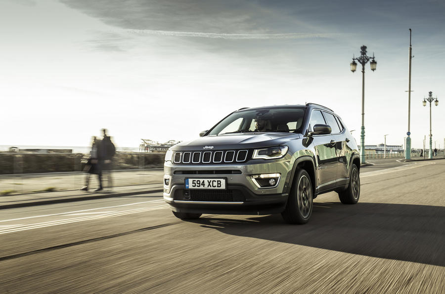 Jeep Compass 2018 UK review city front