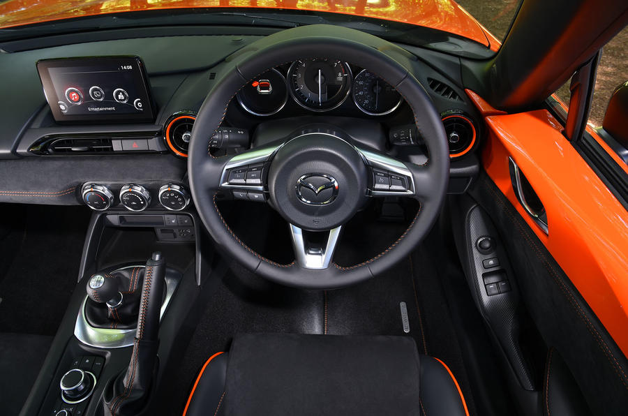 Mazda MX-5 - Best affordable driver's car winner - interior