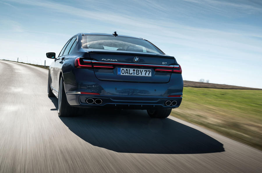 Alpina B7 2019 first drive review - hero rear