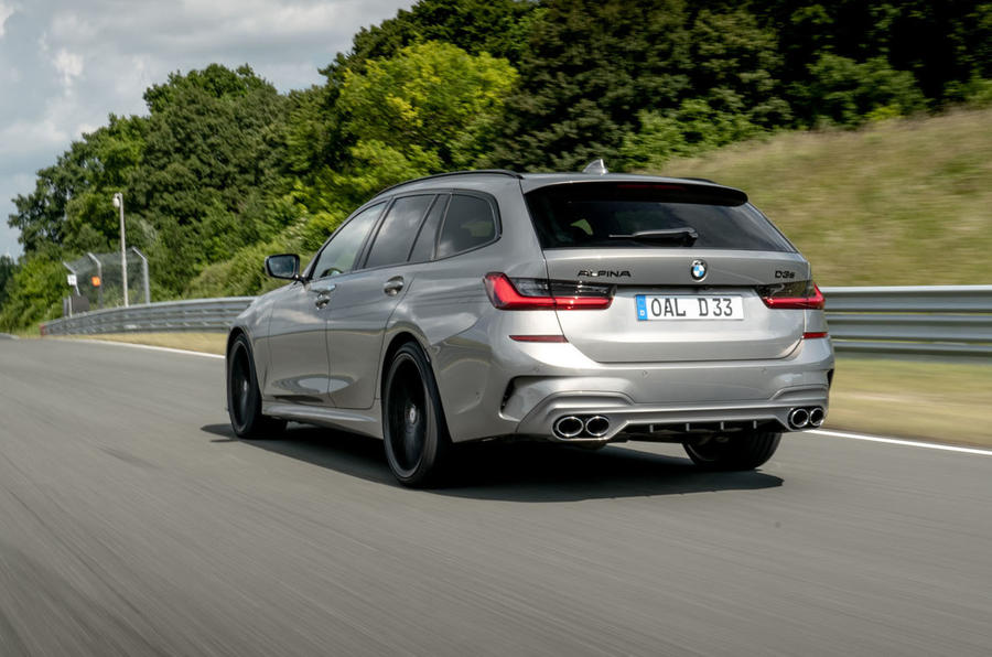 Alpina D3 S Touring 2020 first drive review - hero rear