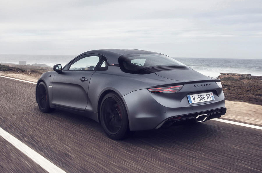 Alpine A110S 2019 first drive review - hero rear