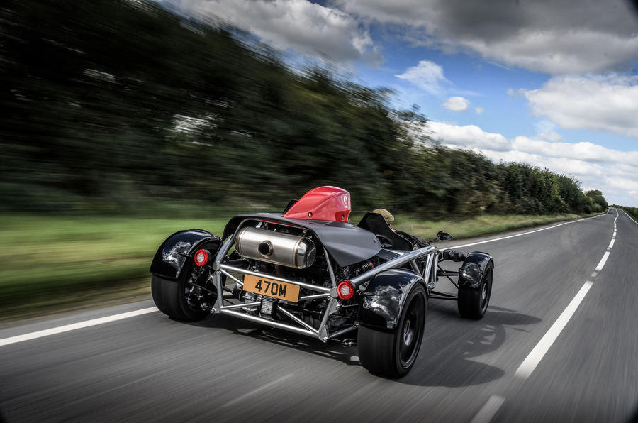Ariel Atom 4 2018 first drive review hero rear