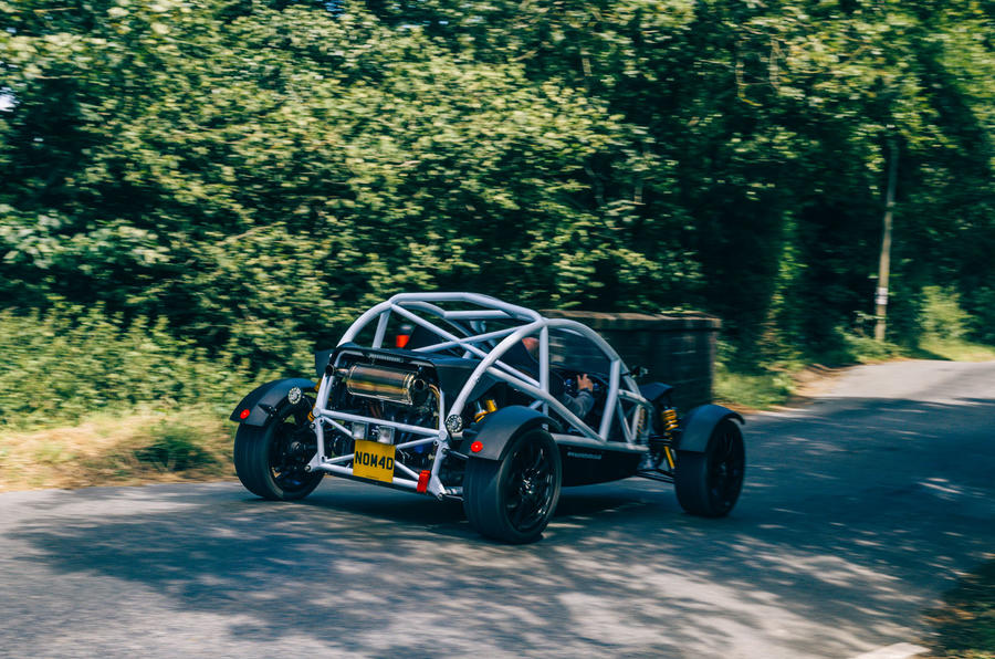 Ariel Nomad R 2020 UK first drive review - hero rear